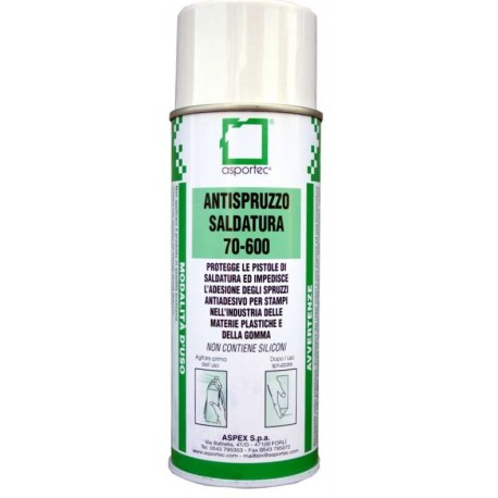 70 600 Antispruzzo saldature spray ml. 400