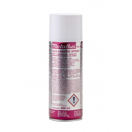 70 16 Alluminio liquido spray ml.400